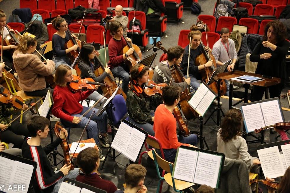 Dans les coulisses de l'Orchestre des lycées français du monde-15
