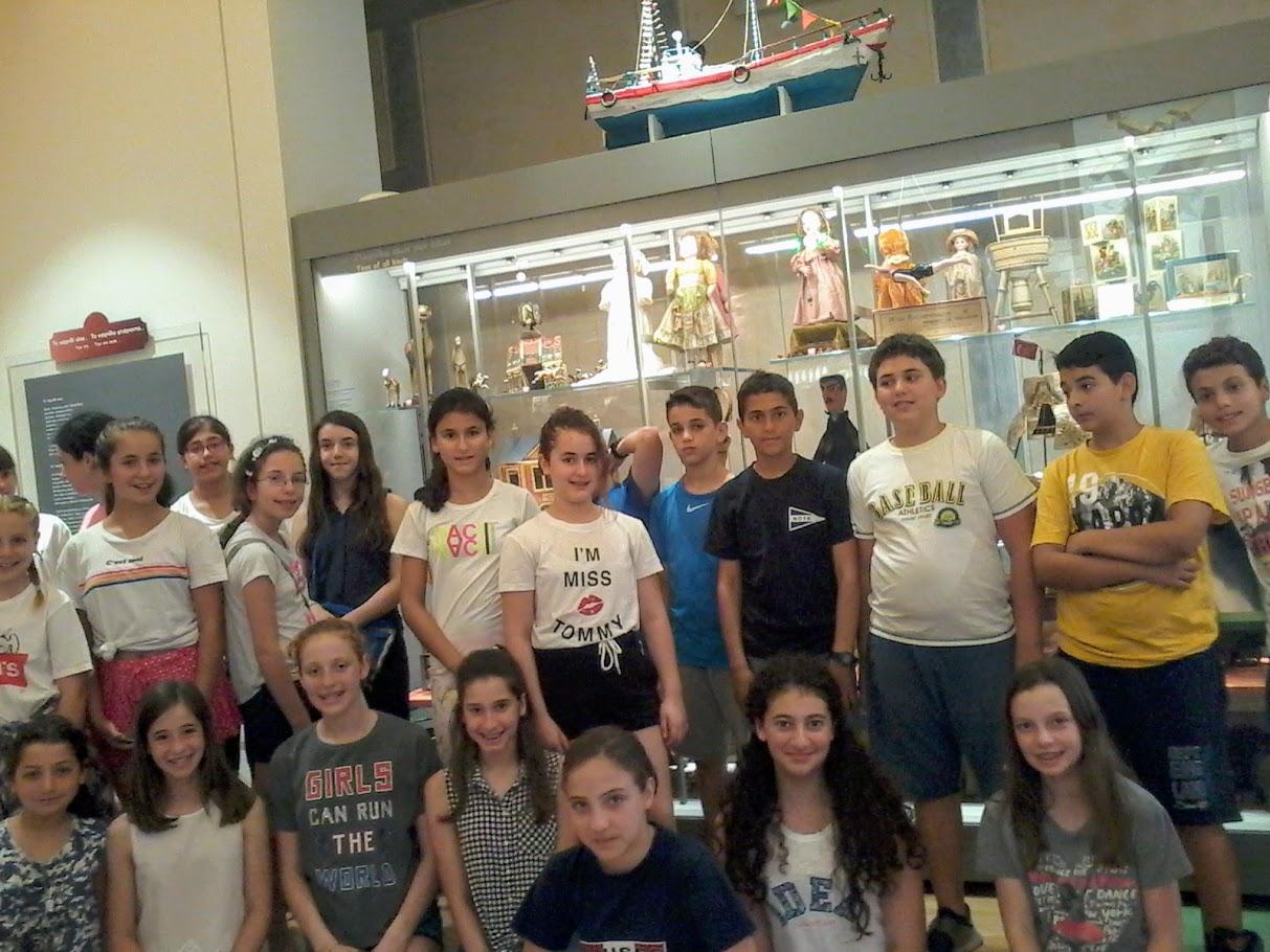 Les élèves des 6e3 et 6e4 au Musée des jouets-0