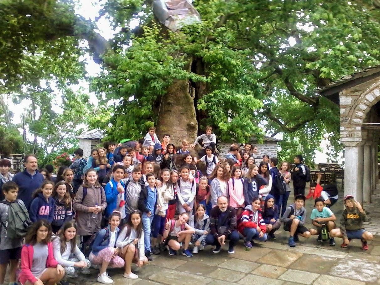 Les élèves de 6e au mont Pélion-0