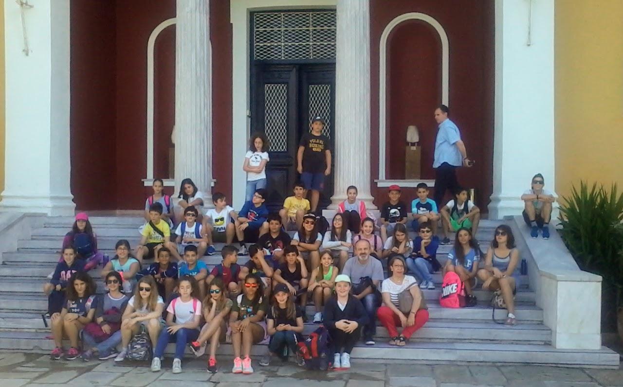 Les élèves de 6e au mont Pélion-1