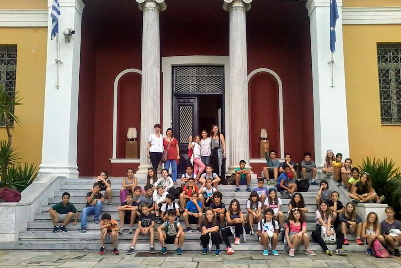 Les élèves de 6e au mont Pélion-2