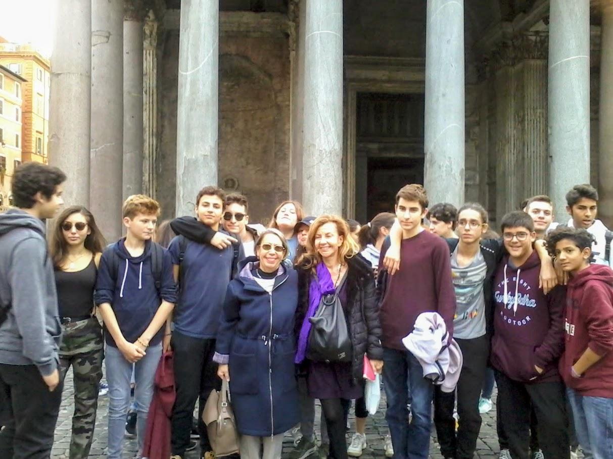 Ένα πανόραμα Ρώμης για τους μαθητές της Α' και Β' λυκείου του Γαλλικού τμήματος-1