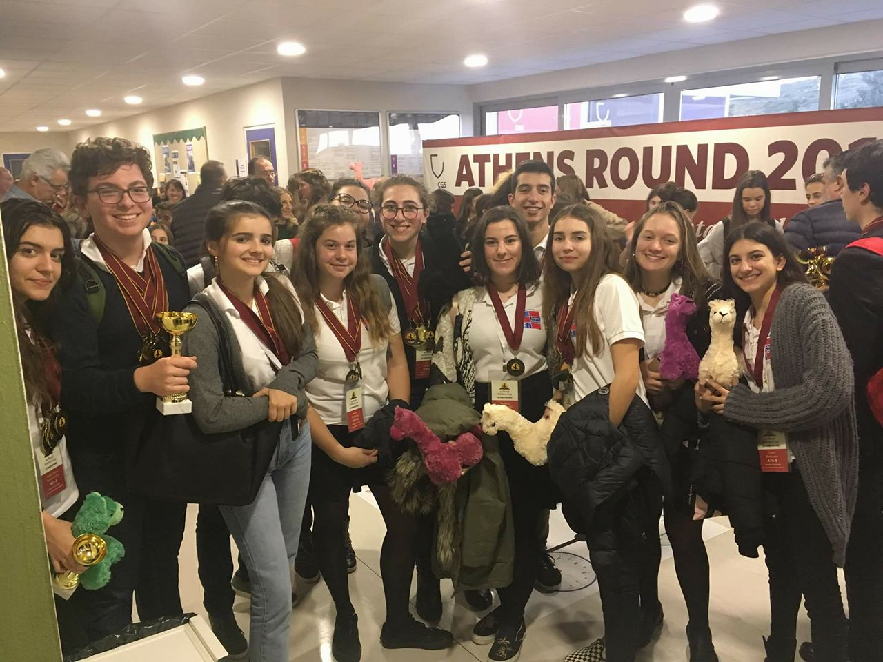 """Les élèves du LFHED remportent la troisième place à la compétition académique """"World Scholar's Cup""""-1"""