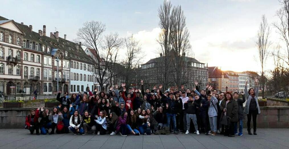 Οι μαθητές της Β' Γυμνασίου στο Στρασβούργο-0