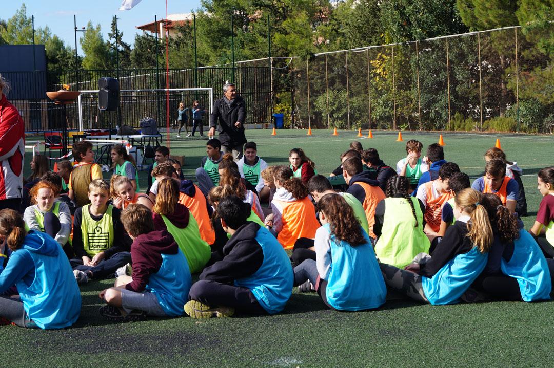 La 1ère session des Olympiades a réuni les élèves de 3ème et de Γ΄-11