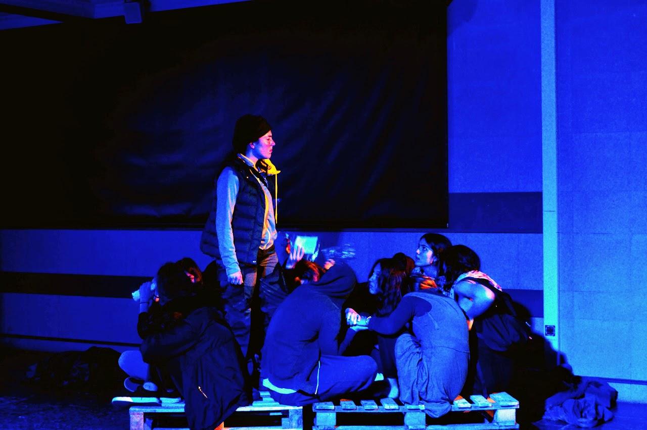 Migraaaants : le spectacle des Terminales option théâtre-0