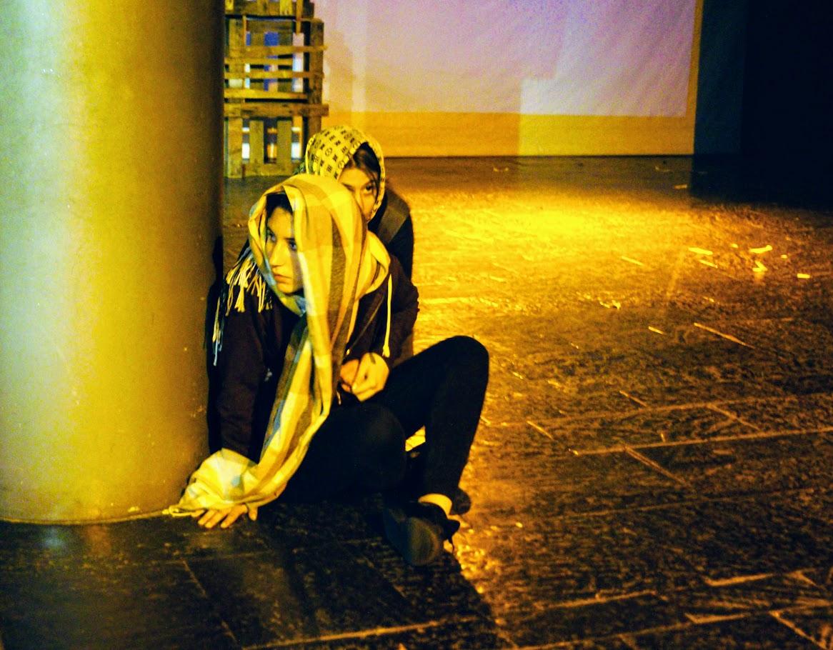 Migraaaants : le spectacle des Terminales option théâtre-8