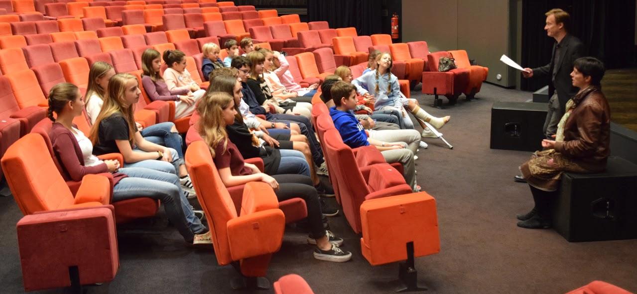 Nos élèves délégués du collège en formation à l'IFG-0