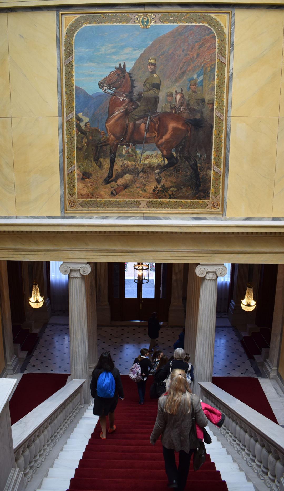 A la découverte de la caserne des Evzones et du Palais présidentiel-37