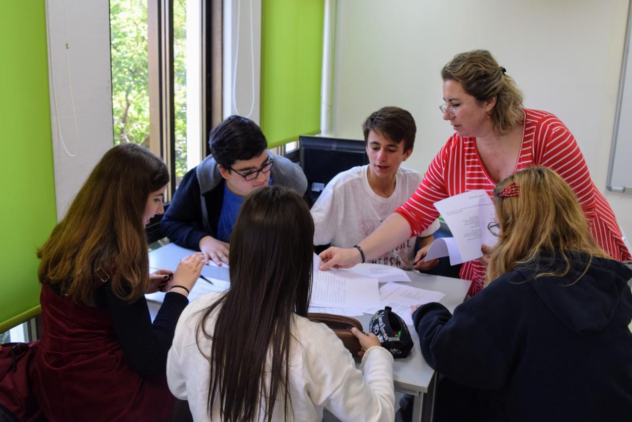 Nos élèves délégués du collège en formation à l'IFG-3