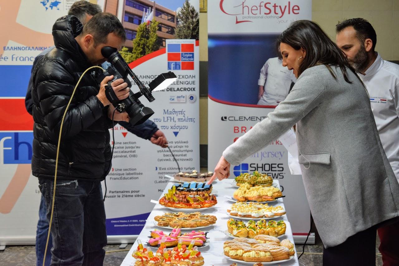 """Concours """"Le meilleur éclair grec 2019"""" organisé par l'Ambassade dans le hall du LFHED !-2"""