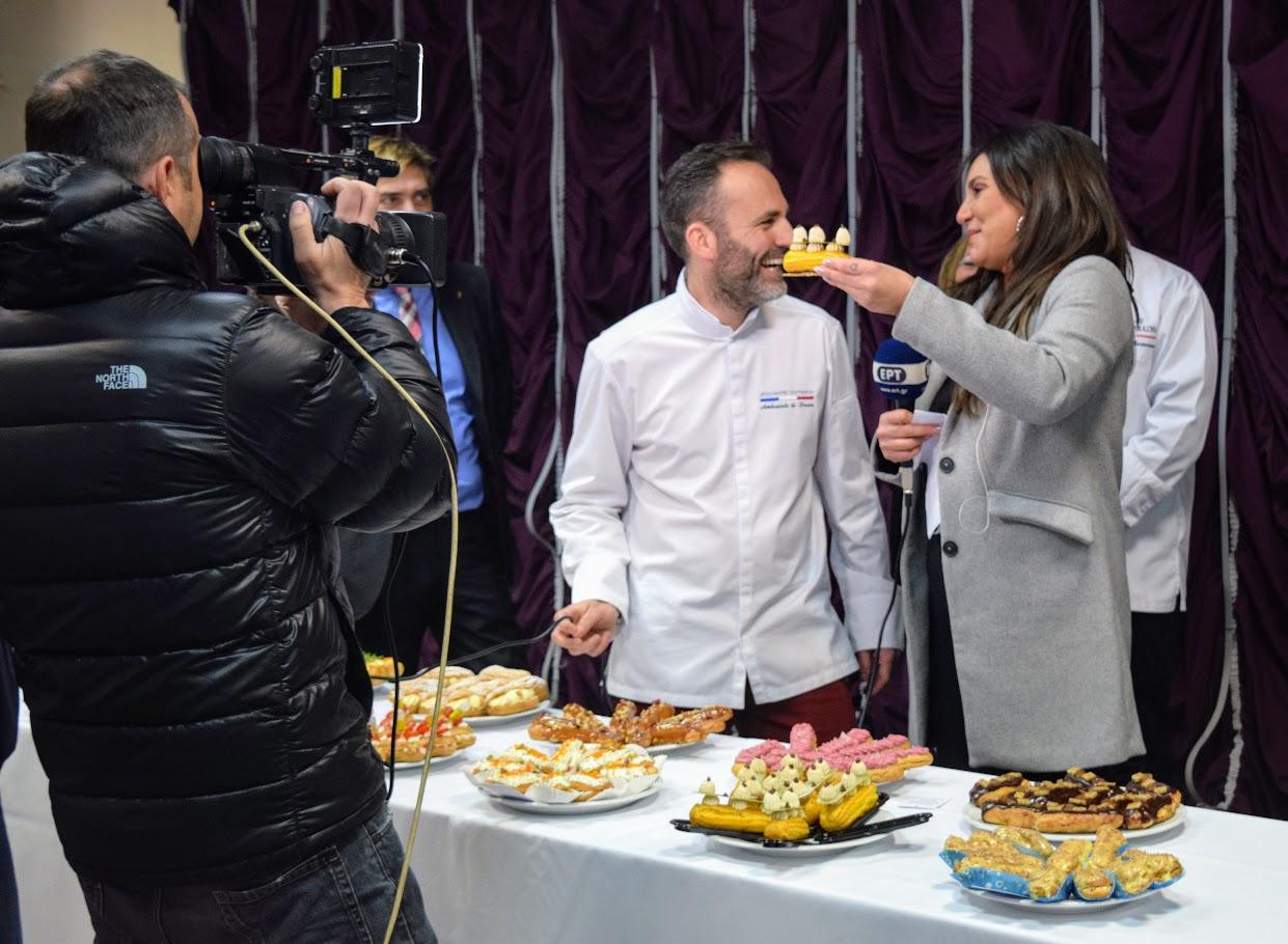 """Concours """"Le meilleur éclair grec 2019"""" organisé par l'Ambassade dans le hall du LFHED !-5"""