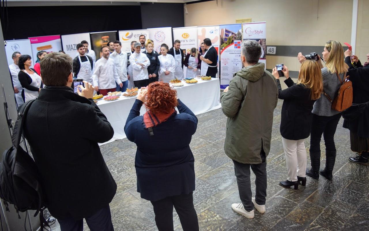 """Concours """"Le meilleur éclair grec 2019"""" organisé par l'Ambassade dans le hall du LFHED !-7"""