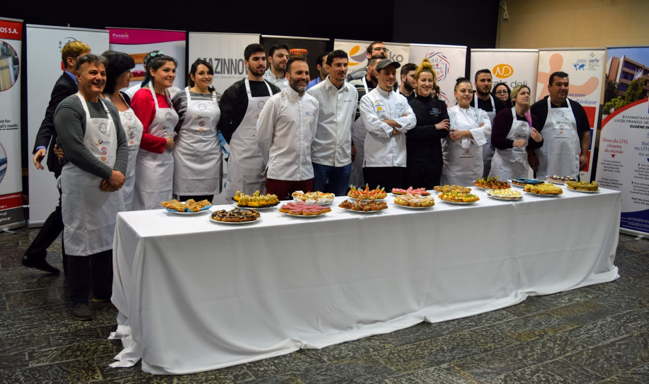 """Concours """"Le meilleur éclair grec 2019"""" organisé par l'Ambassade dans le hall du LFHED !-8"""