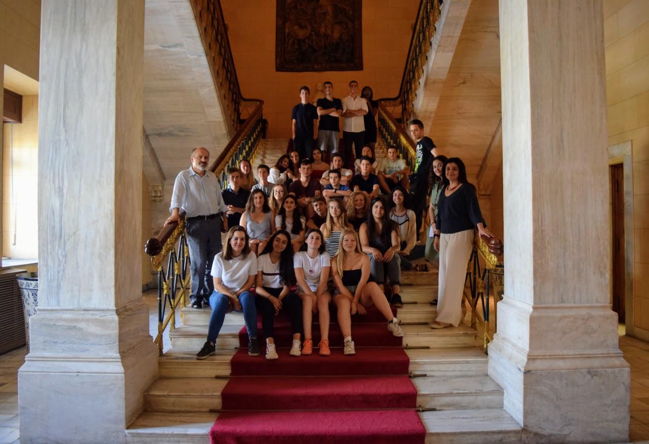 Les classes de 2nde visitent le Parlement grec-3