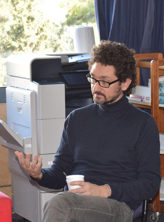 Les élèves de 1ère L partagent un moment privilégié avec l'écrivain David Foenkinos -1