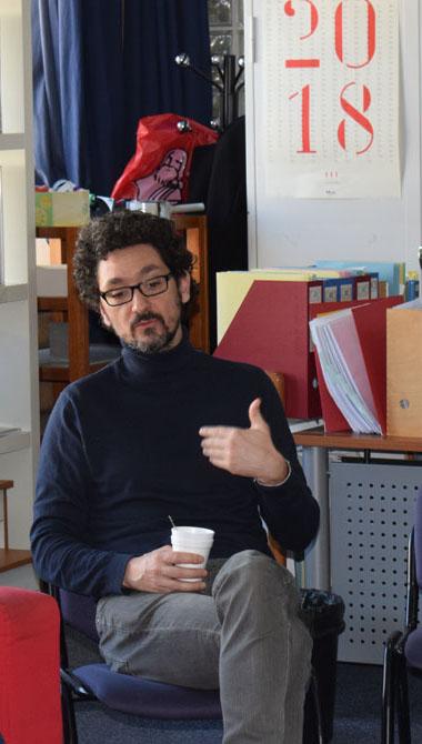 Les élèves de 1ère L partagent un moment privilégié avec l'écrivain David Foenkinos -2