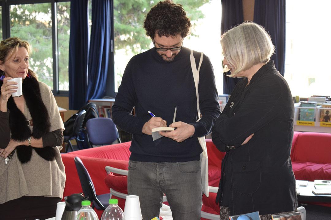Les élèves de 1ère L partagent un moment privilégié avec l'écrivain David Foenkinos -6