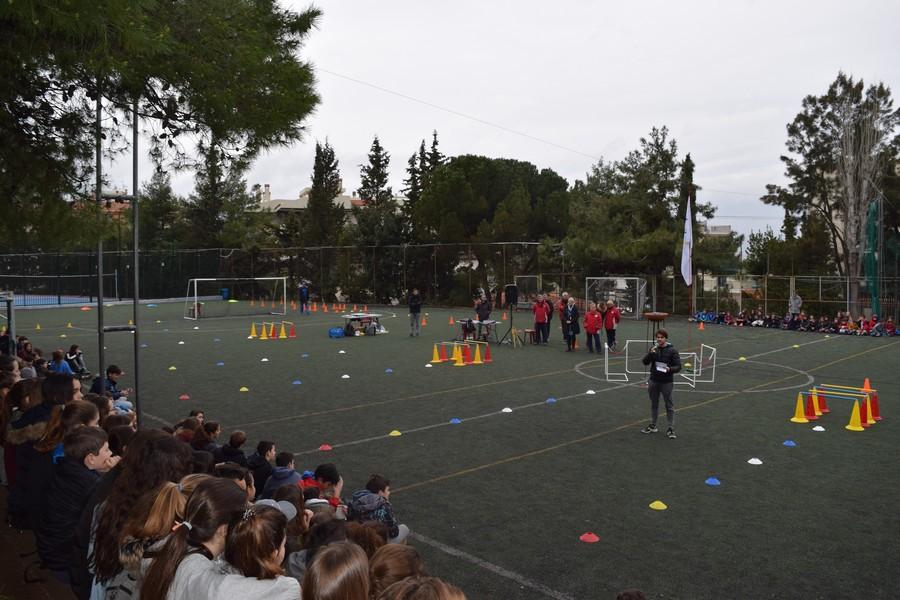 La 2ème session des Olympiades a réuni les 5e, 4e, B' et Γ'-0
