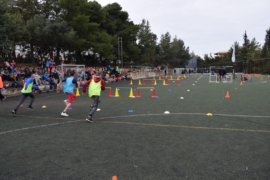 La 2ème session des Olympiades a réuni les 5e, 4e, B' et Γ'-2