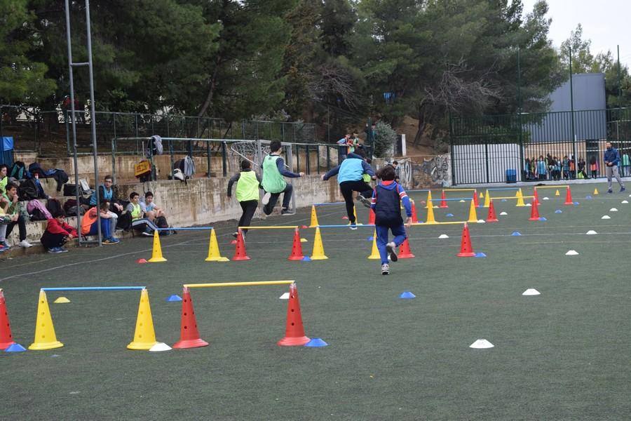 La 2ème session des Olympiades a réuni les 5e, 4e, B' et Γ'-3