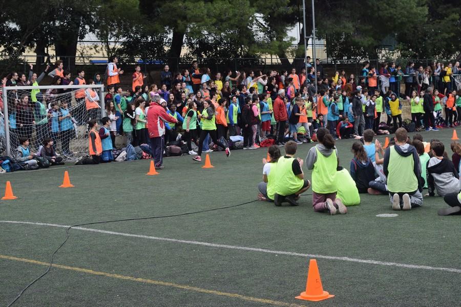 La 2ème session des Olympiades a réuni les 5e, 4e, B' et Γ'-23