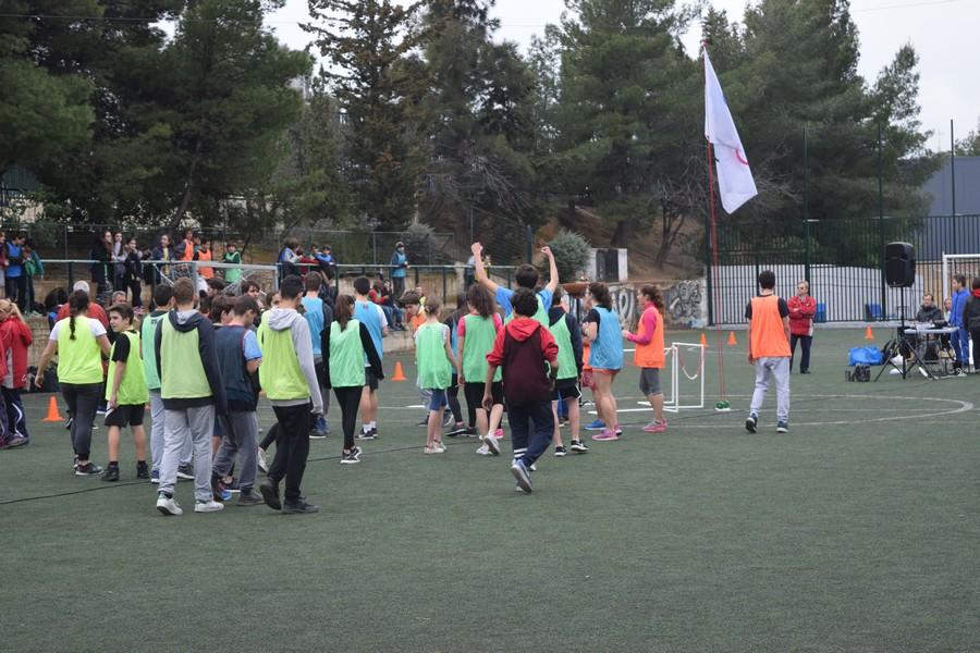 La 2ème session des Olympiades a réuni les 5e, 4e, B' et Γ'-24