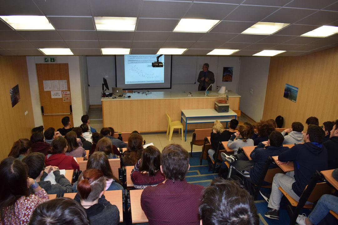 Conférences de M. Jean-Pierre SAUVAGE, prix Nobel de chimie 2016, au LFHED-0