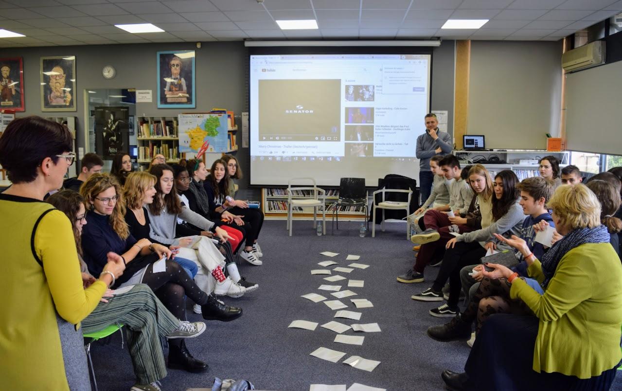 Journée de l'amitié franco-allemande : les élèves germanistes du LFHED rencontrent leurs partenaires de la Deutsche Schule Athen-0