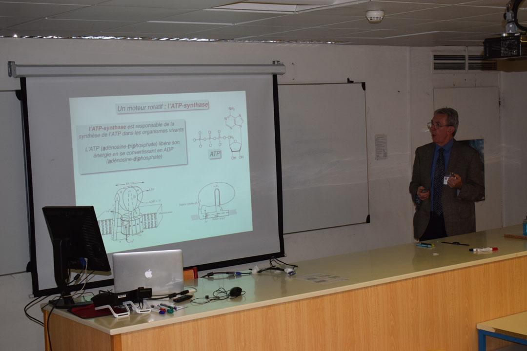 Conférences de M. Jean-Pierre SAUVAGE, prix Nobel de chimie 2016, au LFHED-6