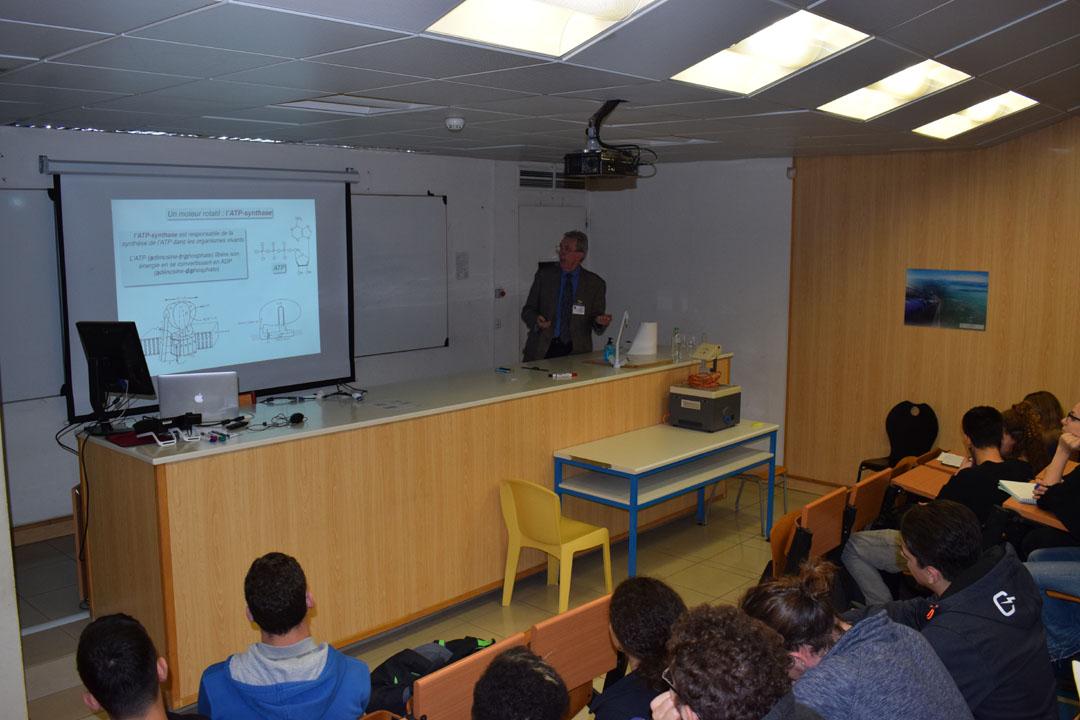 Conférences de M. Jean-Pierre SAUVAGE, prix Nobel de chimie 2016, au LFHED-7