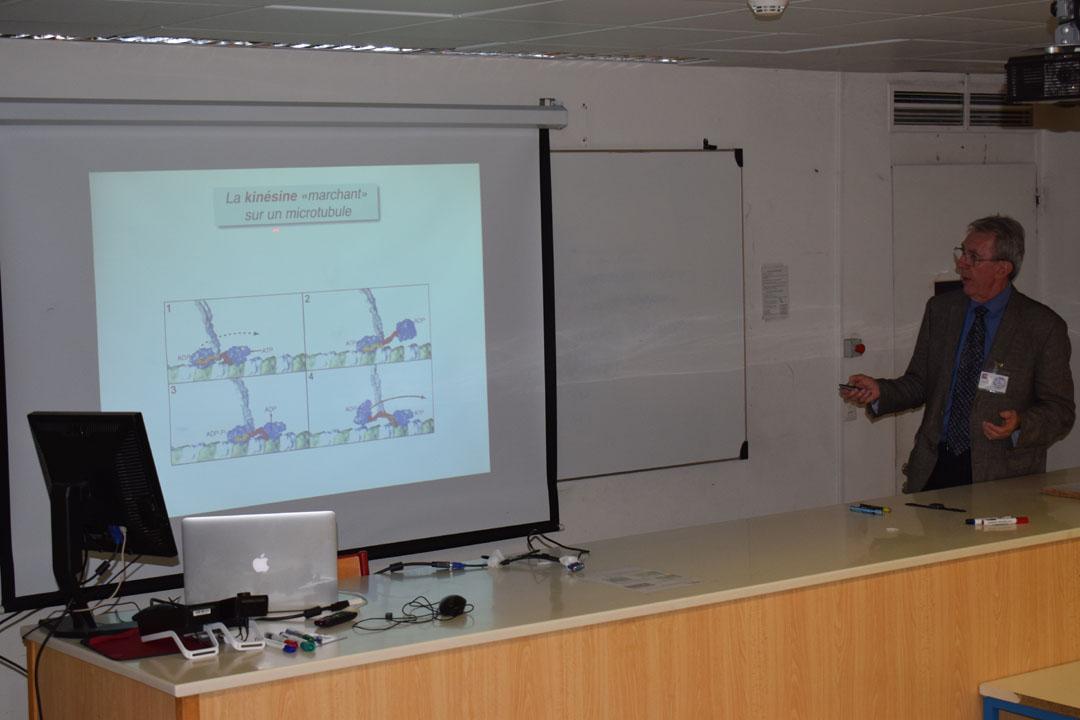 Conférences de M. Jean-Pierre SAUVAGE, prix Nobel de chimie 2016, au LFHED-8