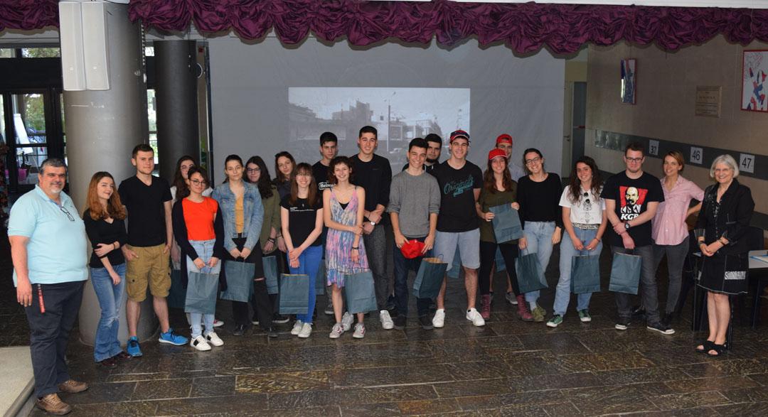 Les élèves de FLE de la Section Hellénique remportent le prix de l'engagement citoyen au Concours national de la Francophonie 2018 -4