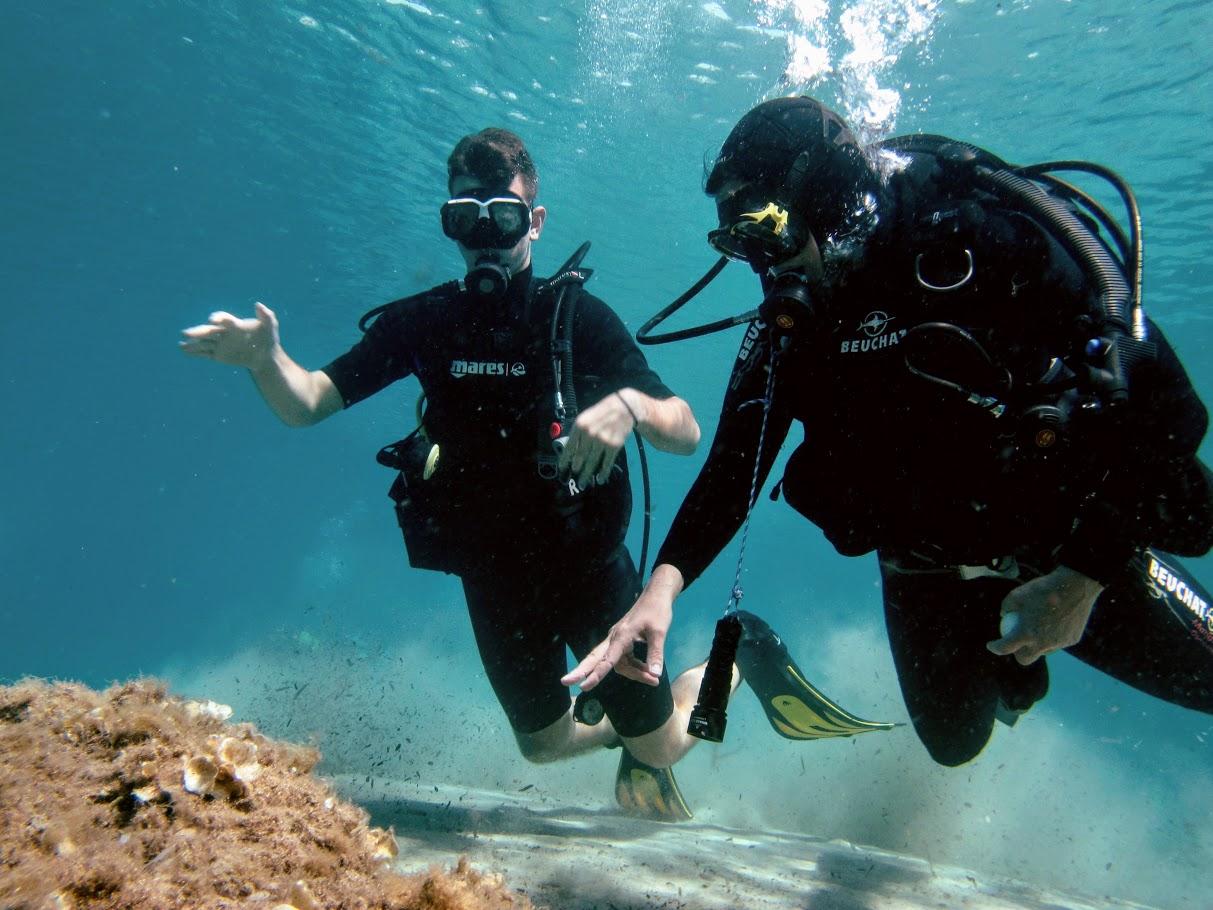 Une plongée sans pression pour les élèves de 2nde-7