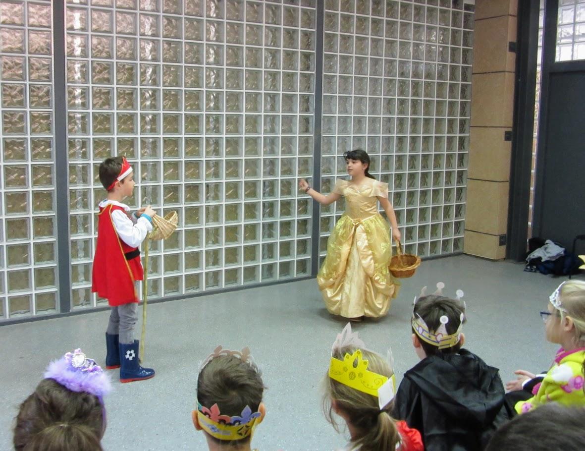 """Spectacle des CE2D : """"Le roi Boutentrain et la reine Quichouine""""-5"""