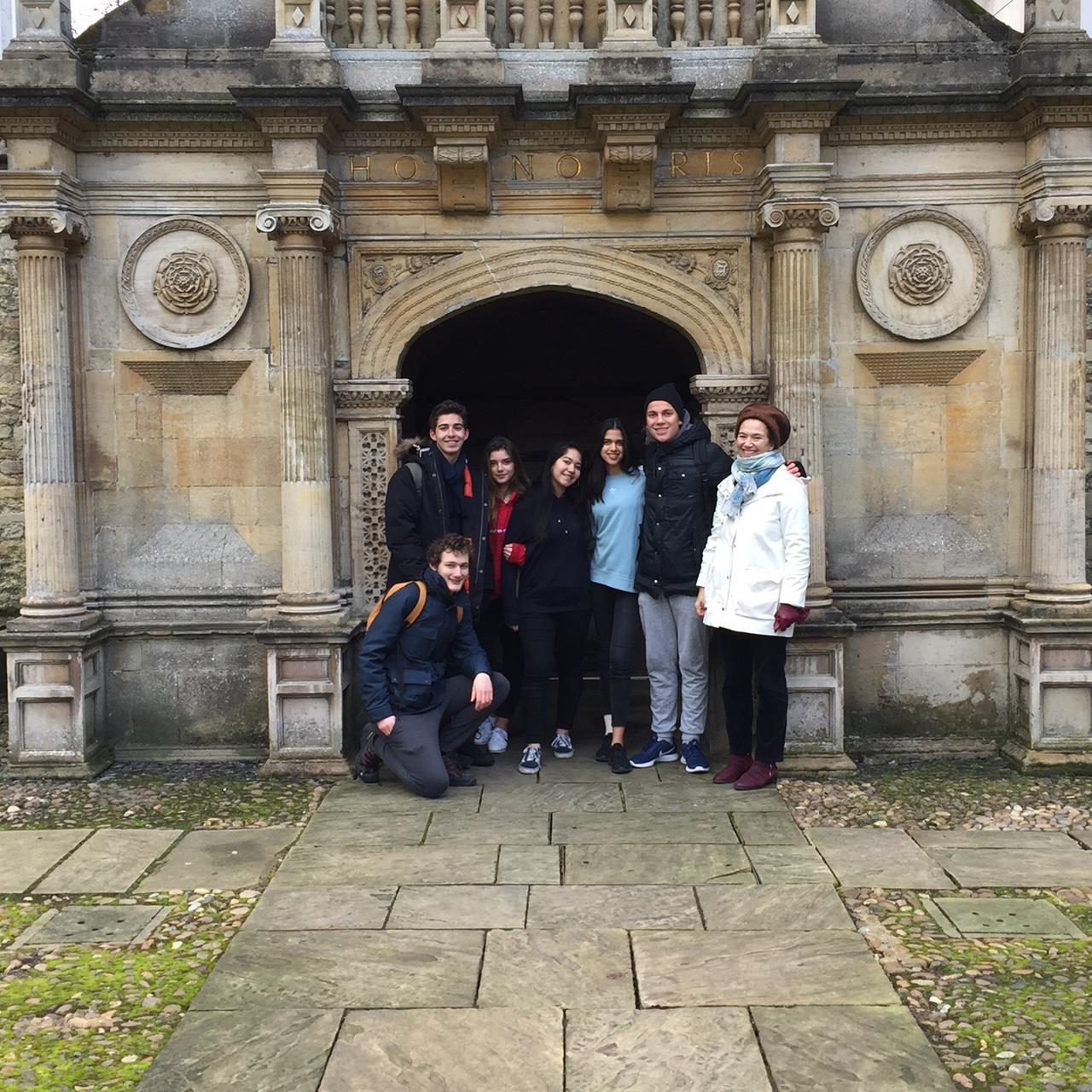 Voyage de la section OIB en Angleterre-1