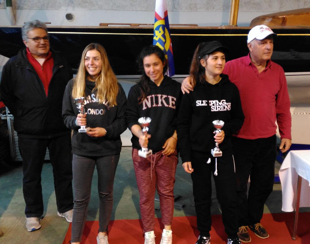 Catherine Drakopoulou remporte la 3ème place au championnat régional de voile - Laser 4.7 Youth-1