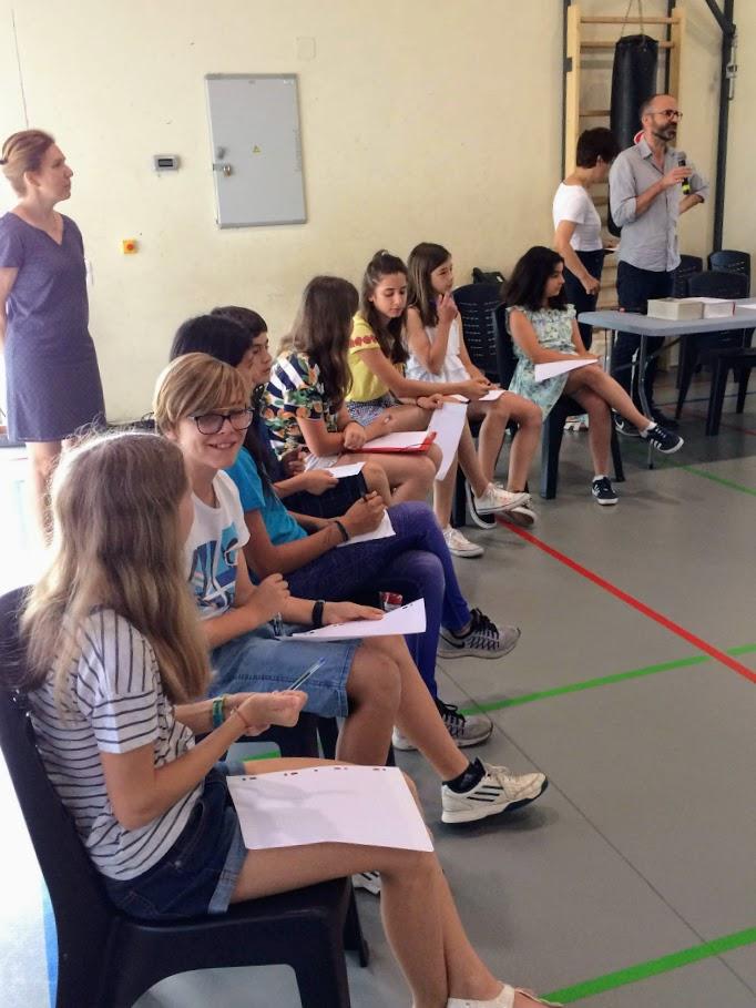 Un concours d'orthographe au LFHED !-2