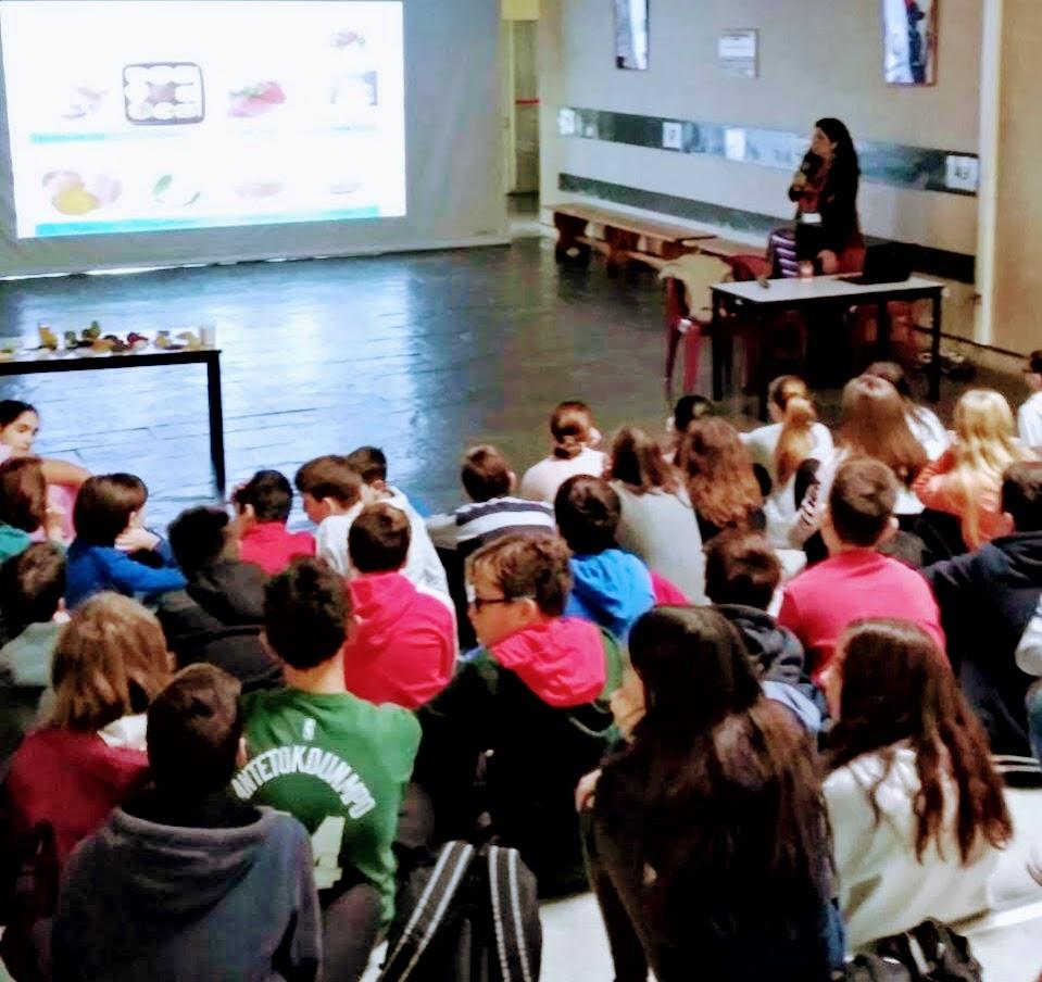 Ομιλία με θέμα τη σωστή διατροφή στο σχολείο μας !-1