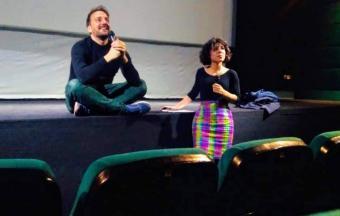 Nos élèves de 1ère des sections française et hellénique couvrent la XXe édition du Festival du Film Francophone-3