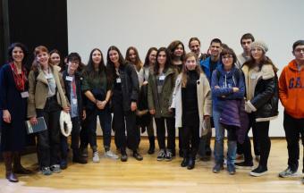 Nos élèves au colloque « En voyageant avec Kazantzakis »-14