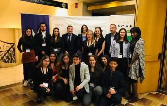 Nos élèves de 1ère des sections française et hellénique couvrent la XXe édition du Festival du Film Francophone-1