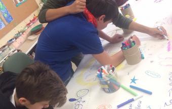 Οι μαθητές του Α1 Γυμνασίου στο ΚΕΝΤΡΟ ΗΜΕΡΑΣ ΑΝΟΙΧΤΗ ΑΓΚΑΛΙΑ-3