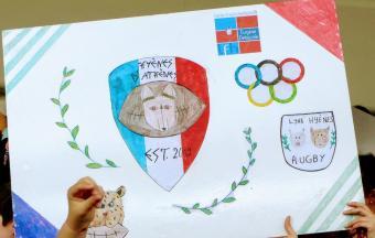 """Notre équipe des """"Hyènes et Lynx d'Athènes"""" participe au 1er Trophée FrancOvalie-10"""