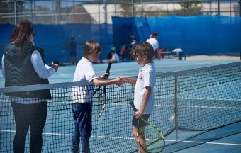 Victoire de nos élèves au tournoi de tennis inter-établissements d'OAKA-3