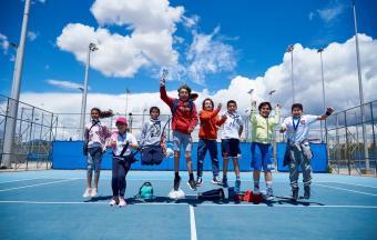 Victoire de nos élèves au tournoi de tennis inter-établissements d'OAKA-7