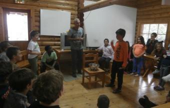 Camp d'automne pour les élèves du CE2 à la 6ème-6