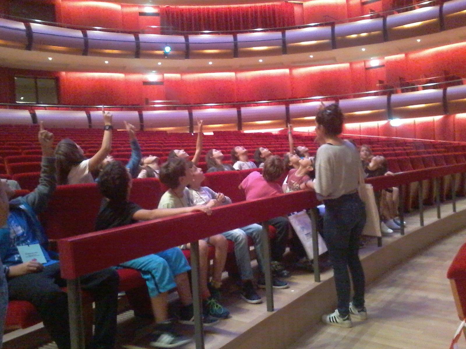Visite de 6e OGALCH au nouvel Opéra et Bibliothèque Nationale