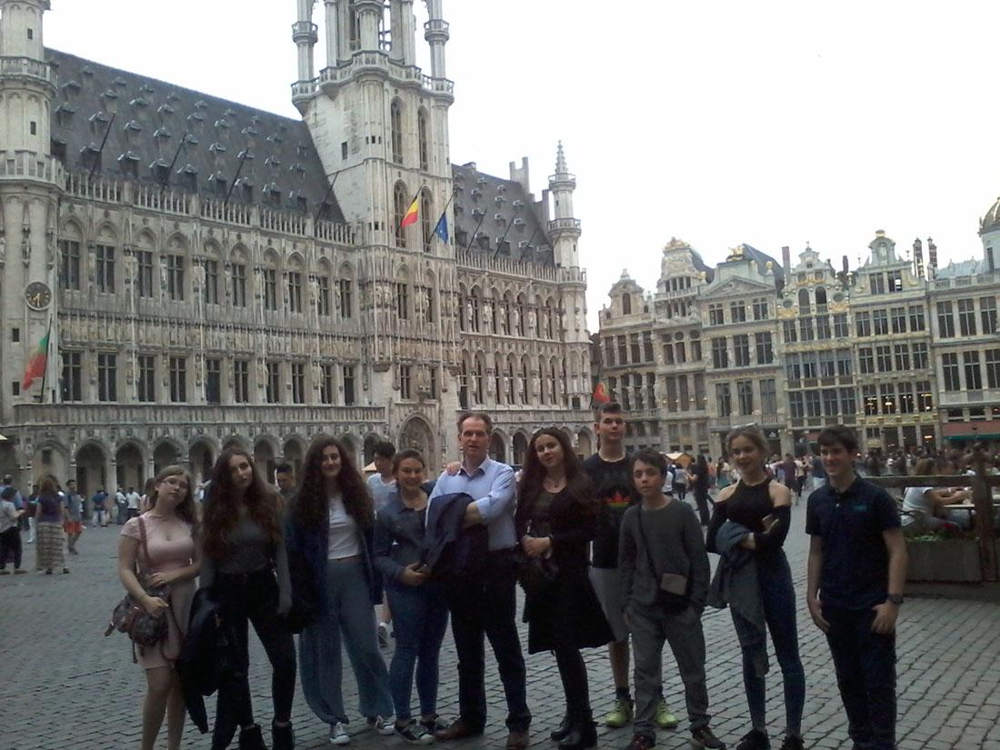 La classe de 3e1 OGALCH invitée au Parlement européen-3