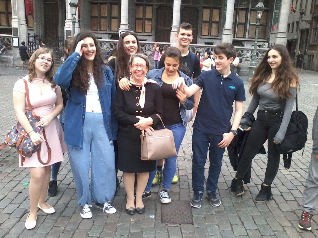 La classe de 3e1 OGALCH invitée au Parlement européen-4